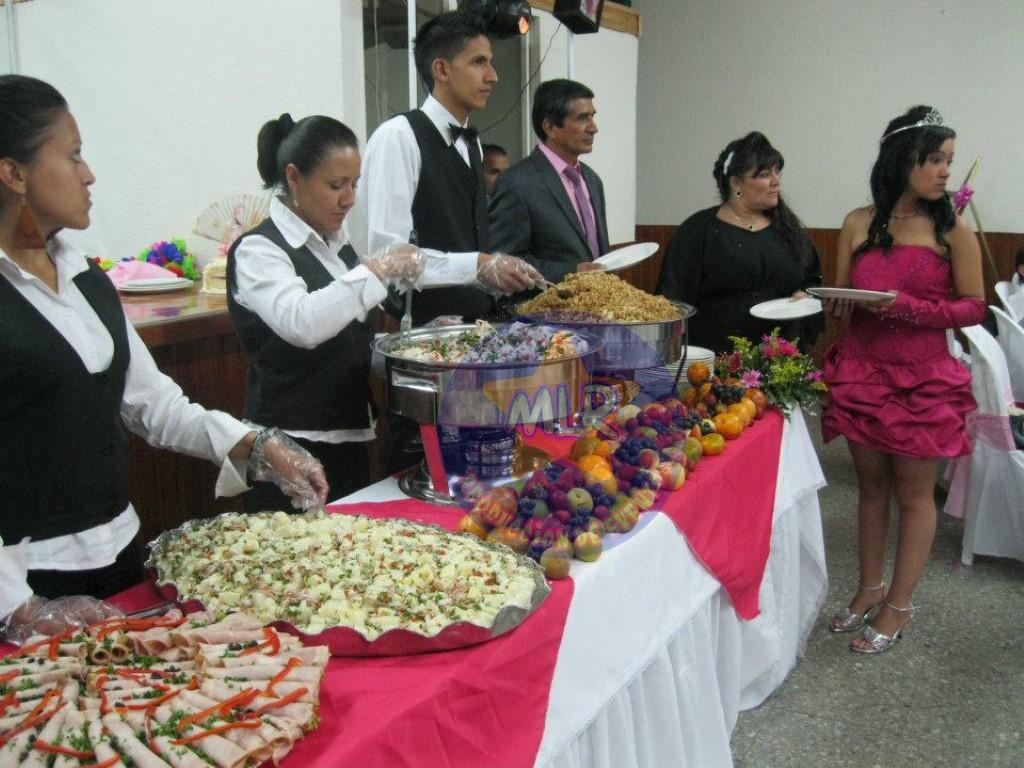 comida para fiestas